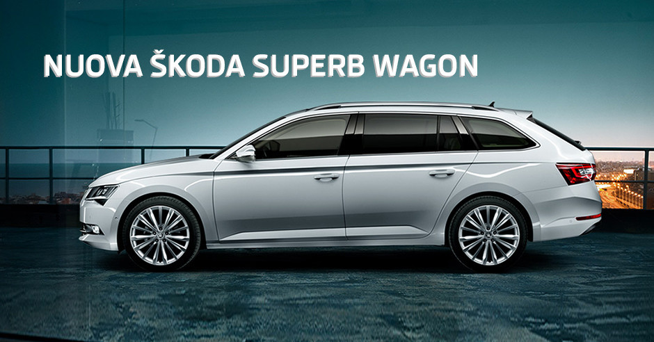 Nuova Škoda Superb Wagon