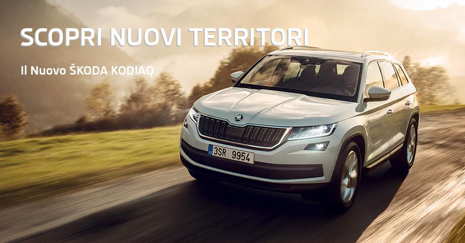 Il nuovo Škoda Kodiaq